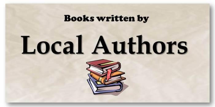 Book Blurbs Local Authors