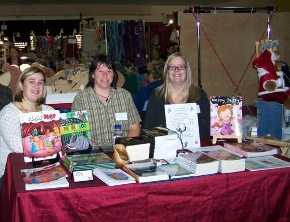 Mindy George, Diane Tibert and Jayne Peters.
