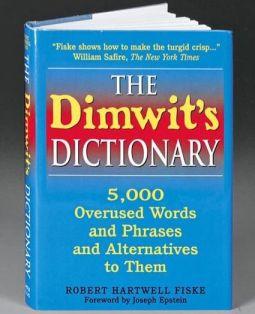 Dimwits Dictionary Robert Hartwell Fiske
