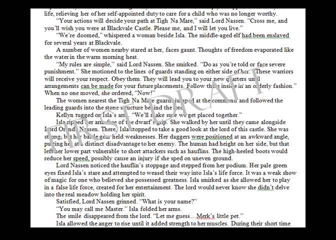 Paragraph Spacing b