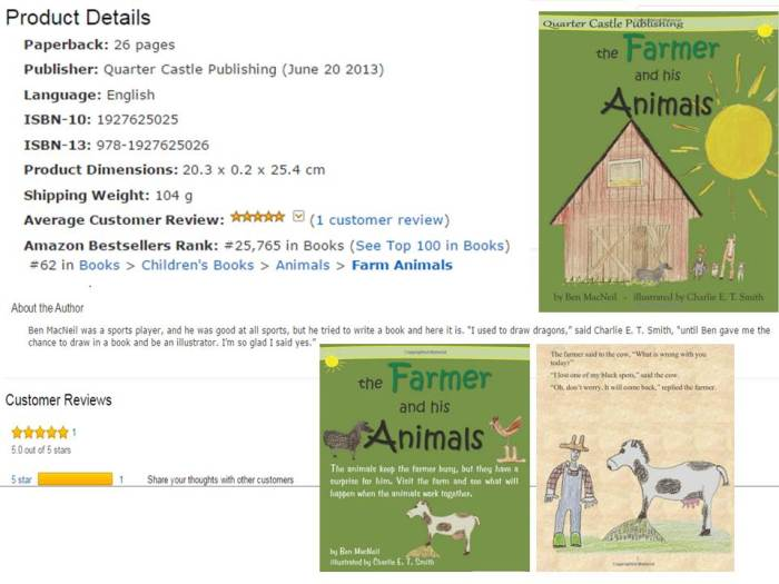 Farmer and his Animals No 62