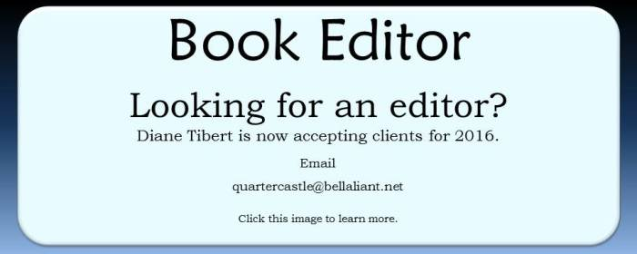 Editor Diane Tibert