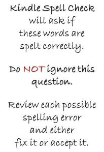 Correct Errors