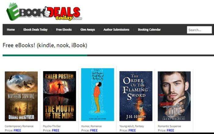 Ebook Deals book ad